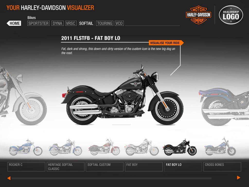 harley-davidson-visualizer-bike-selection