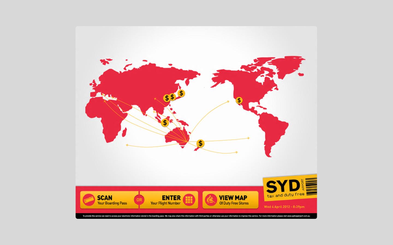 Sydney Duty Free Kiosk
