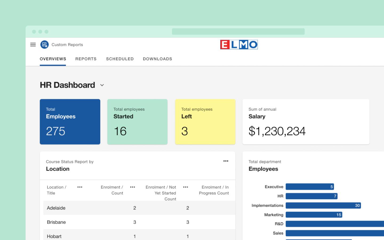 ELMO Custom Reporting Tool Experience